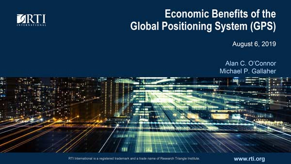 GPS Economic Study Presentation