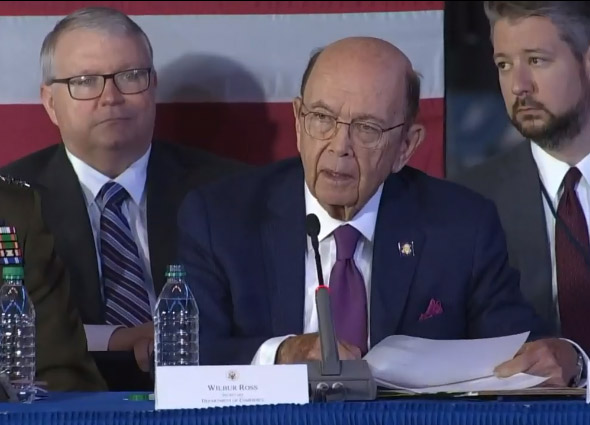 Secretary Ross Remarks from 6th National Space Council Meeting
