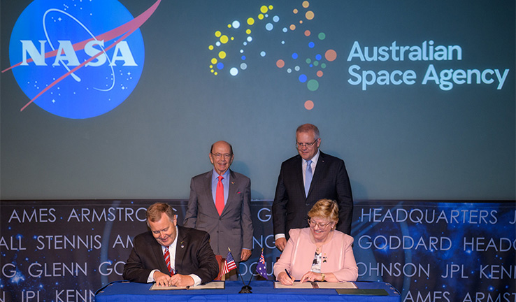 Secretary Ross Attends U.S.-Australia Space Cooperation Event
