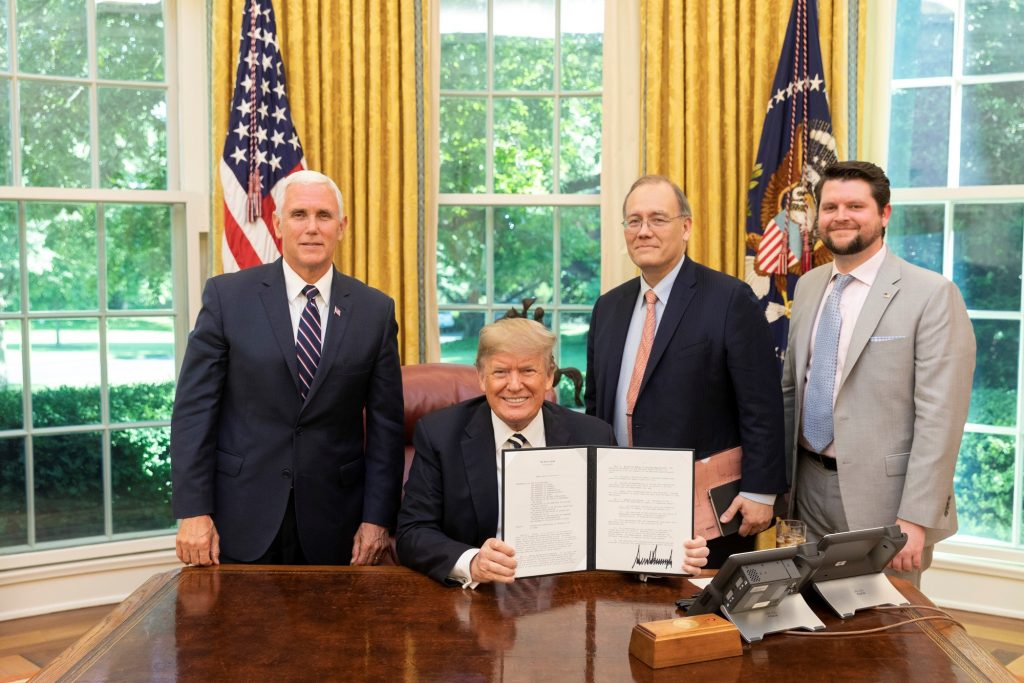 President Signs Directive on Space Regulatory Reform