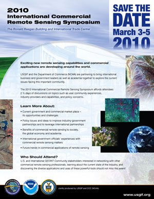Announcement of 2010 Remote Sensing Symposium