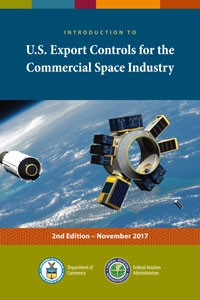 Cover of the Introduction to U.S. Export Controls  for the Commercial Space Industry